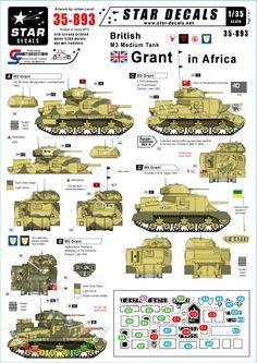 "MIRAGE 1//72 WW2 Vehicle UK M3 Grant Medium Tank /""Battle of El Alamein/"""