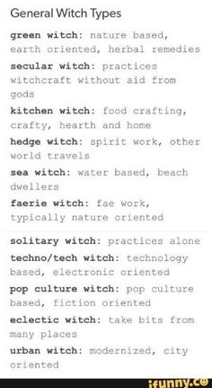 cosmic witch: astrology based, works mainly at night. In case I want to write witchy things.