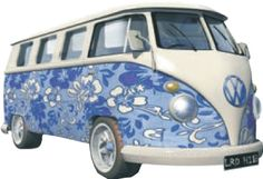 Shop now for Campervan and Beetle Gifts. Free delivery on Orders Over Over 800 different VW campervan gifts, Beetle and Vdub gifts. A camper van enthusiasts ideal gifts paradise. Also the home of Rusty & Dubs campervan gifts teddy bears. Volkswagen Bus, Vw T1, Campervan Gifts, Vw Pickup, Combi Vw, Bus Camper, Wooden Clock, Cover Pics, Blue Flowers