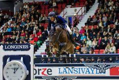Martin Fuchs is on Fire with Chaplin! Win again, now in the 145 Final. Helsinki International Horse Show, Finland, October 2016