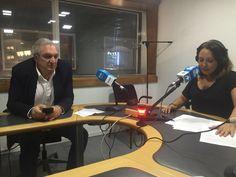 Antonio Banda, CEO de Feelcapital, con la periodista económica Rosana Sáez, en el programa Finanzas Personales de Cierre de Mercados (Radio Intereconomía).  #FondosDeInversión (14 de julio de 2017).