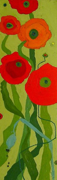 Home - Tusinski Gallery Painting & Drawing, Watercolor Paintings, Paintings I Love, Flower Paintings, Poppy Pattern, Small Canvas, Mixed Media Artists, Flower Power, Paper Art