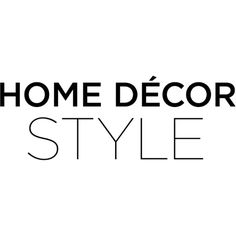 Home Decor Style Text ❤ liked on Polyvore featuring text, words, quotes, backgrounds, black, phrase and saying