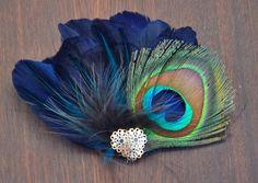 #Peacock #fascinator