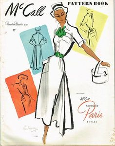 1940s Vintage McCall Pattern Book February Summer 1949 Pattern Catalog 80 Pages #McCallPatternBook