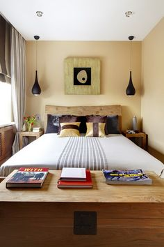 Small and Simple Master Bedroom Designs