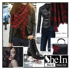"""""""SheIn #8"""" by damira-dlxv ❤ liked on Polyvore featuring moda"""