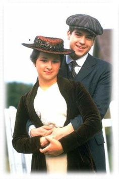 my fav couple when I was like ten.I still love them though Felix King Izzy Pettibone Road to Avonlea