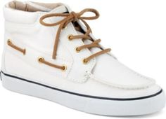 Sperry Top-Sider Betty Chukka Boot Ivory Canvas, Women's Shoes