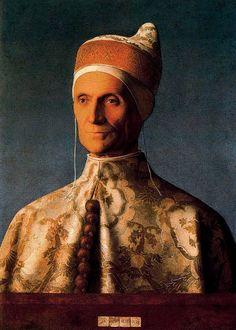 GIOVANNI BELLINI Retrato del Dux Leonardo Loredan (1505) National Gallery, Londres.