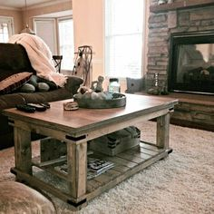Xframe coffee Table airy neutrals with a pop of colordefinitely