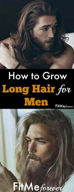 10 Tips for Healthy Hair By: FitMe forever Looking for how to make your hair grow faster naturally at home? Below are tips on how to grow long hair for men…More Growing Long Hair Men, Growing Your Hair Out, How To Grow Your Hair Faster, Grow Long Hair, How To Make Hair, Men With Long Hair, Longer Hair Faster, Long Hair Tips, Hair Removal For Men
