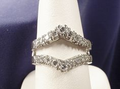 1970s insert rings | complement your solitaire diamond engagement ring beautifully the ring ...