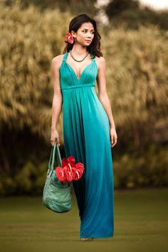 Waikiki Dress. I love how the color slightly changes...
