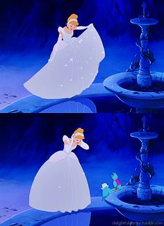 <3 cinderella's transformation, walt's favorite animated scene.