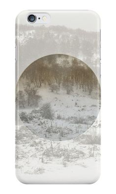 iPhone Case - Cases/Skins  Snowing Forest by by-jwp  http://www.redbubble.com/people/by-jwp/works/18098940-snowing-forest?p=iphone-case