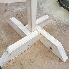 Self Standing Base Only, Base to hold a wood post, Post/Stake sold separately, Signpost Base, Sign s Woodworking Projects Diy, Diy Wood Projects, Outdoor Projects, Woodworking Shop, Woodworking Plans, Wood Crafts, Woodworking Basics, Woodworking Magazine, Woodworking Classes