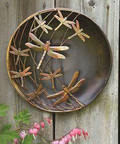 Another great find on #zulily! Dragonflies Raised Steel Outdoor Wall Art #zulilyfinds