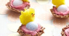 Impress friends and family with these precious Easter chocolate nests.