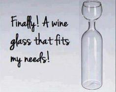 My new wine glass!