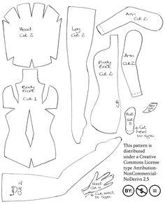 Felt Fairy Doll - pattern by ~impetere on deviantART