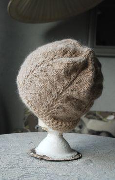 Alpaka hat Knit romantic Hat Knit Winter Hat Women by UNDIIN