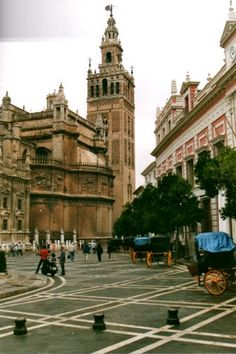 La Giralda de Sevilla, Spain