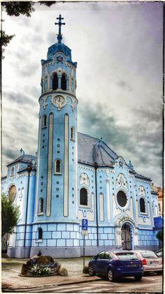 Church of St. Elisabeth, Bratislava by Naveen Shenoy / 500px (Slovakia)