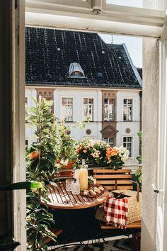 Interior Exterior, Exterior Design, Interior Inspiration, Room Inspiration, Small Balcony Garden, Dream Apartment, Decoration Design, Home And Deco, Home And Living