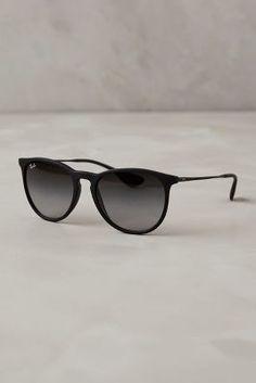 Ray-Ban Erika Sunglasses Black All Eyewear