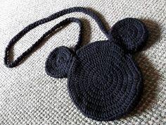 Mule 'n Nag Crafts: Crochet Mickey Mouse Bag Pattern
