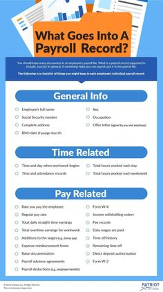 What Should I Include in My Employee Payroll Records? Payroll, small business, … – My Pin's Small Business Bookkeeping, Small Business Accounting, Business Marketing, Business Entrepreneur, Business Planning, Business Tips, Online Business, Business School, Financial Planning