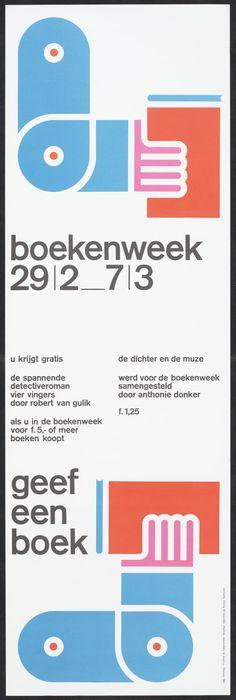 boekenweek 1964 ontwerper:   Collectie NAGO ontwerper:   Wissing, Benno opdrachtgever:   Commissie voor de Collectieve Propaganda van het Nederlandse Boek CPNB