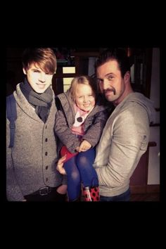 Gorgeous picture of Ela-May, Emmett and Jay.