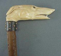 Cane, ivory