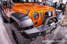 2013 SEMA Mango Tango Smittybilt Jeep JK Wrangler 4-Door