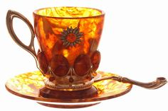 Coffee cups made of natural amber *beautiful*