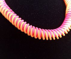 FREE POLYMER CLAY EXTRUDER TUTORIAL - My Viral Spiral necklace made with Makin's Clay. FUN, FAST and EASY!