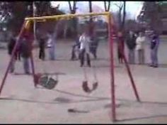 """The Haunted Playground.    Scientists have reportedly been left baffled by a """"haunted"""" playground swing that rocks backwards and forwards on its own.    Locals in Firmat, Argentina claim one seat swings nonstop for ten days before stopping dead, while other swings remain still.    Parents and children are convinced a ghost is to blame for the phenomenon, reports The Sun.    They reported the swing to police after it began moving four months ago,    Police officers had to admit they were…"""