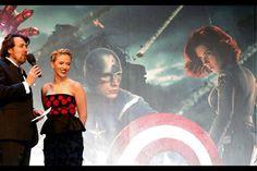 Jonathan Ross talks to Scarlett Johannson. London Première - Avengers Assemble