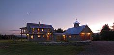Goose Farm - farmhouse - exterior - burlington - Cushman Design Group