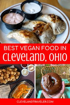 Eating plant-based in Cleveland is easier than ever! Here are 15 delicious vegan and vegetarian restaurants to check out in Cleveland, Ohio. Cleveland Food, Cleveland Restaurants, Vegetarian Restaurants, Best Street Food, Restaurant Guide, Plant Based Eating, Vegan Options, Foodie Travel, Vegan Vegetarian