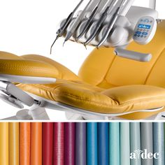 See the latest A-dec upholstery colors. Choose soft, luxurious sewn upholstery or smart, sleek seamless upholstery for your A-dec 500, A-dec 400 or A-dec 300 dental chair: www.a-dec.com/Products/Dental-Chairs/Upholstery-Colors