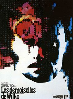 Polish film poster for The Girls From Wilko, designed by Roman Cieslewicz 1979