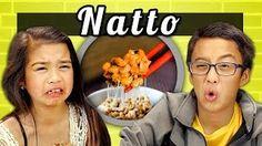 REACT - KIDS vs. FOOD # 10 - NATTO - YouTube