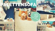 Sofa aus Paletten | Palettensofa | Europaletten | selber bauen | DIY | U...