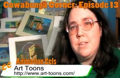 Cowabunga Corner Episode 13.  Teenage Mutant Ninja Turtles Animation Cels.  I've been collecting them for a long time and share some of my collection in this video.  http://www.cowabungacorner.com/content/cowabunga-corner-13