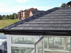 Warm roof solution - fully tiled and insulated conservatory roof to keep your conservatory at a comfortable temperature all year round! Conservatory Roof Insulation, Tiled Conservatory Roof, Warm Roof, Glass Roof, Sun Room, Ceilings, Outdoor Decor, Projects, Beautiful