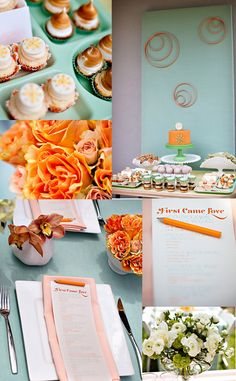 """""""Paola Spagnoletti of Just Chic Events sent some photos of her baby shower.  The styling is so bright and full of color that I don't think anyone could help but smile and celebrate!!!    Shower designed by Jessi at Just Chic Events and photographed by Ashleigh Taylor"""" ~ http://www.greylikesbaby.com/page/2/"""