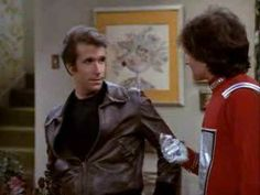 Mork Meets The Fonz